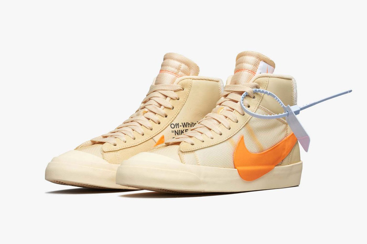 909e9853 Off White Nike Blazer Spooky Pack Official Pics grim reaper All Hallows Eve  leak release date drop virgil abloh collaboration
