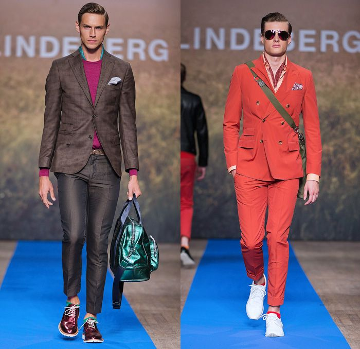 J.Lindeberg 2014 Spring Summer Mens Runway Collection - Mercedes-Benz Fashion Week Stockholm Sweden Vår Sommar: Designer Denim Jeans Fashion: Season Collections, Runways, Lookbooks and Linesheets