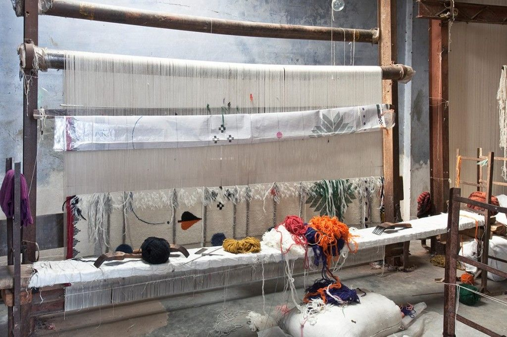 Handmade rugs by Doshi Levien for Nanimarquina4