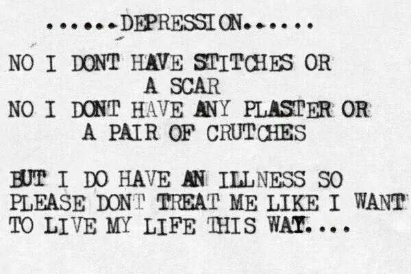 Depresion...