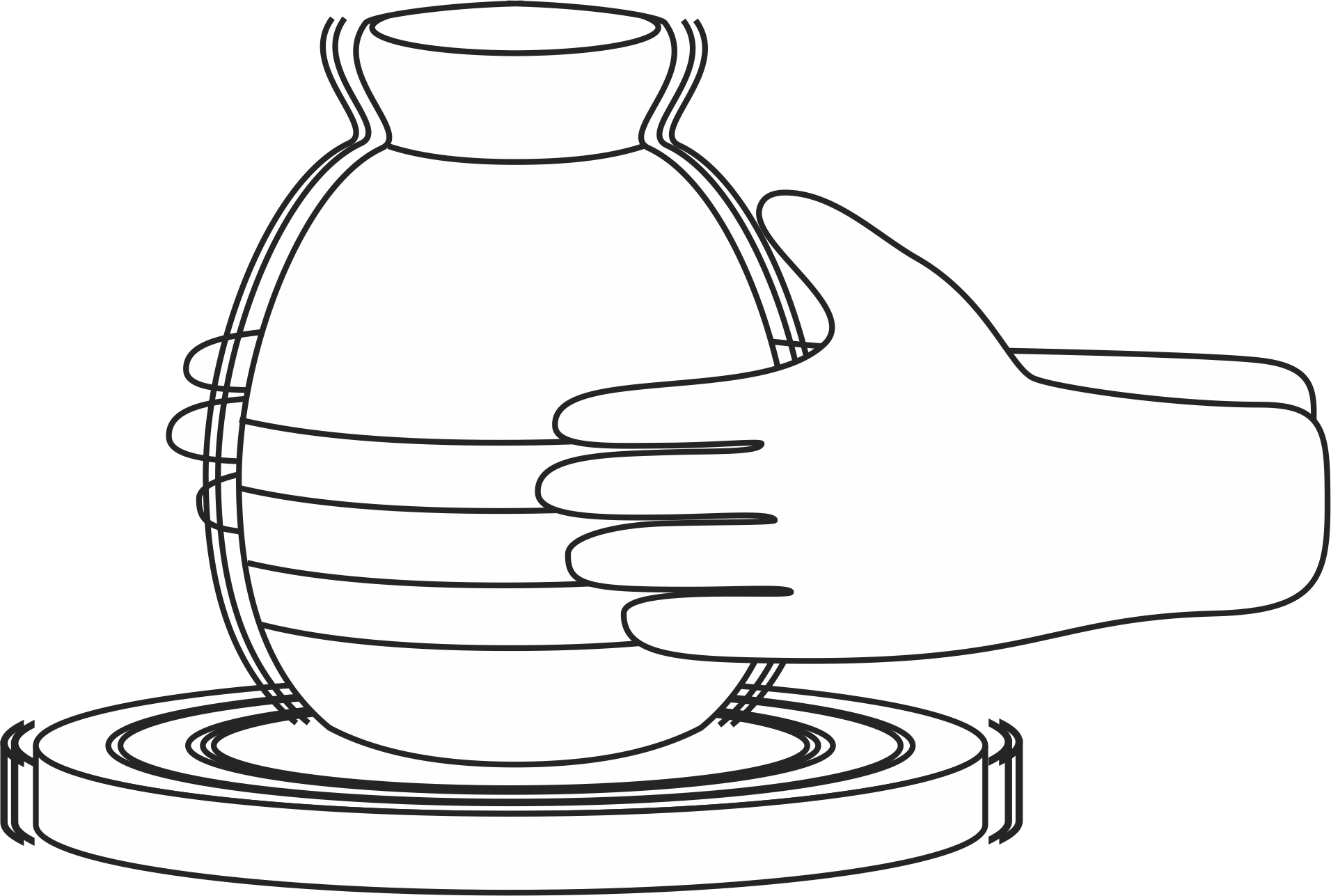 Jeremiah: Potter\'s wheel coloring page | Our Bible Coloring Pages ...