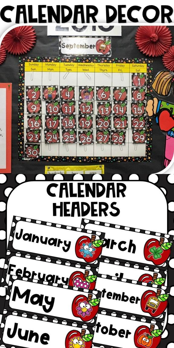 Colorful Apple September 2019 Calendar Wallpaper