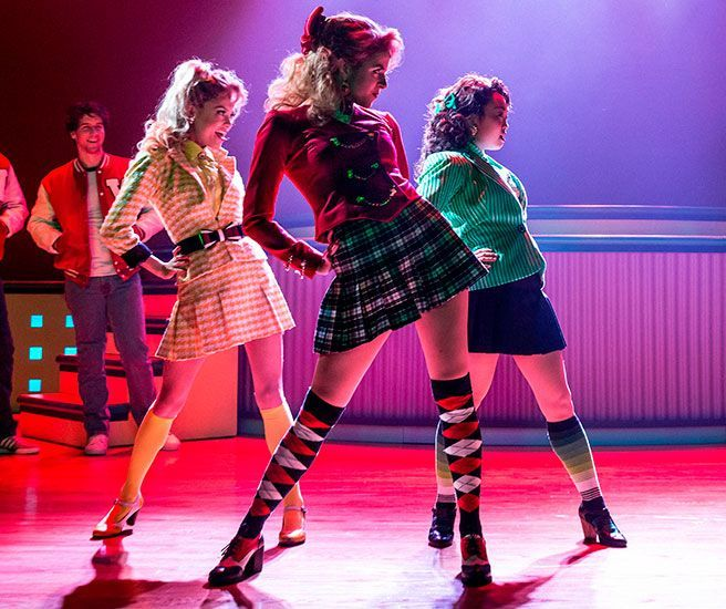 Going Backstage with the Cast of 'Heathers the Musical'
