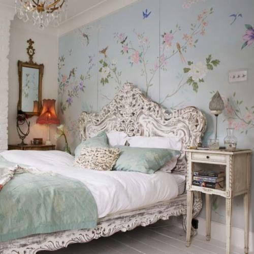Vintage Theme #bedroom