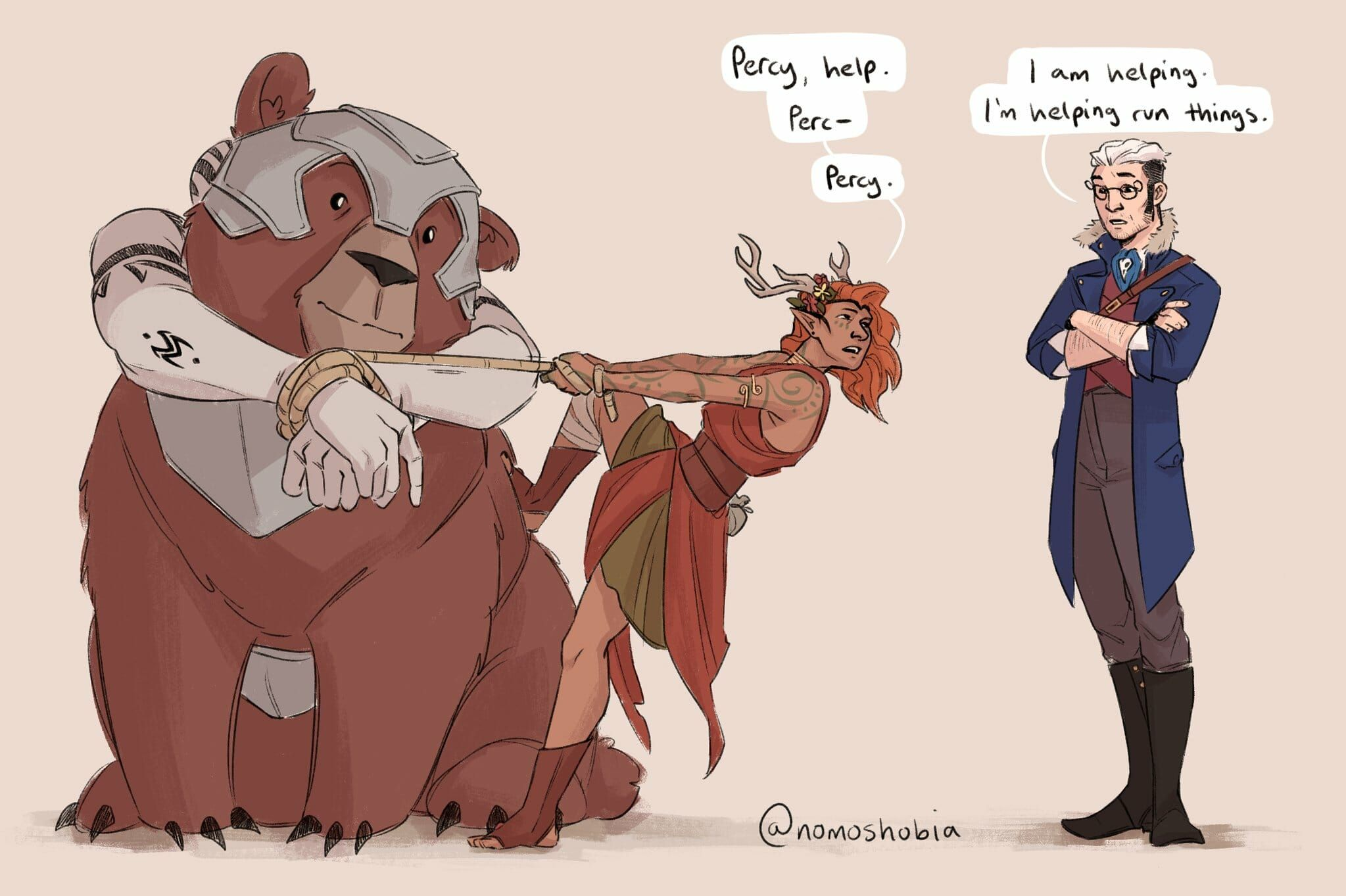 Fan Art Gallery The Search For Grog Critical Role Critical Role Characters Critical Role Percy Critical Role Critical role is geek & sundry's live dungeons & dragons show, featuring dungeon master matthew mercer and his troupe of fellow voice actors. for grog critical role