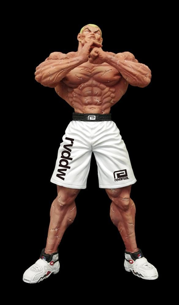 the cosplay Baki grappler