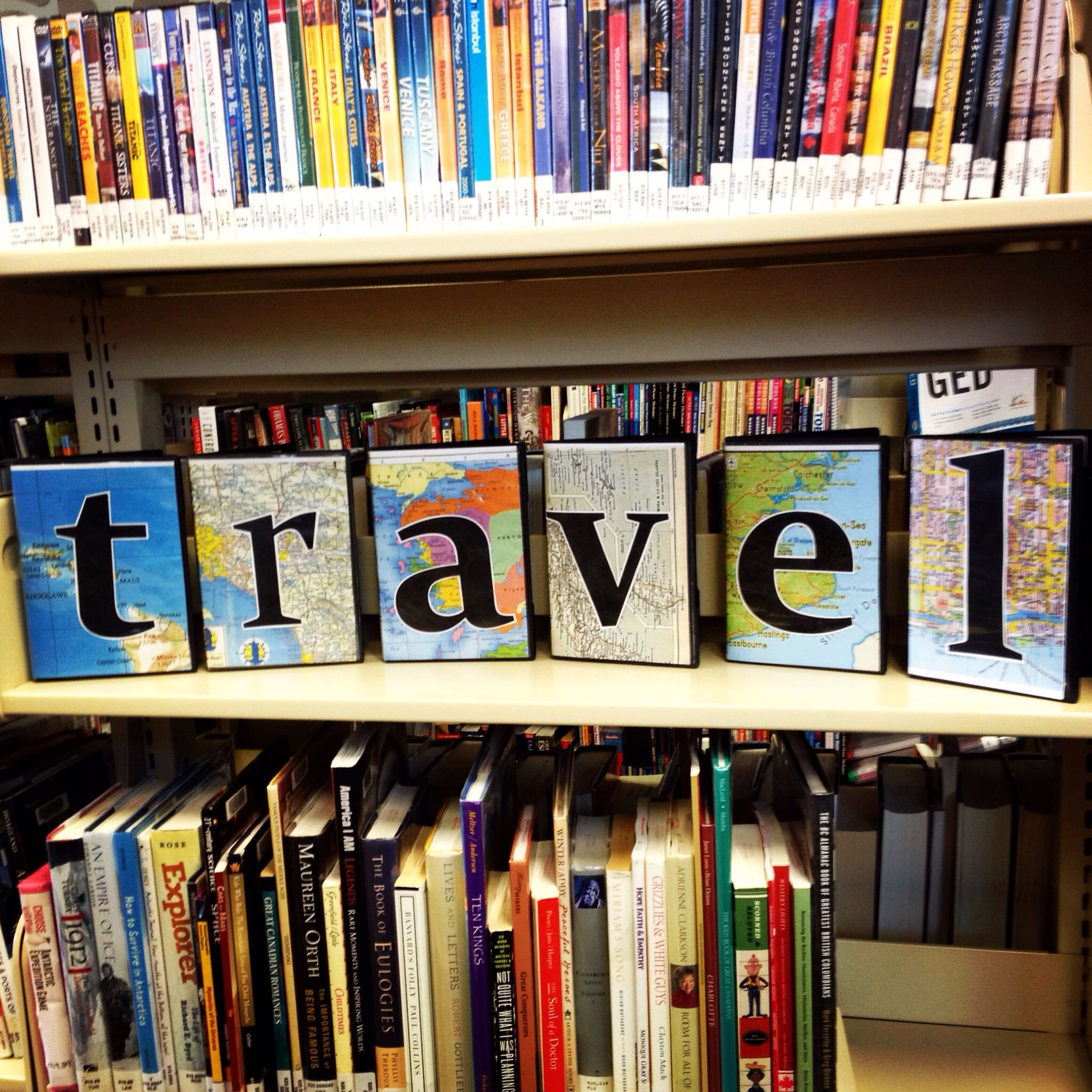 Dvd Vitrine Travel Display With Old Maps And Old Dvd Cases Art Pinterest