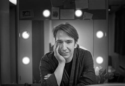 1997 - Alan Rickman. This is one of several photos taken