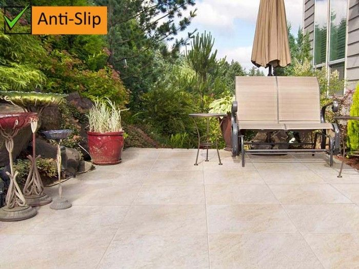 Kilimanjaro Umgazi Beige Anti-Slip Floor Tile | CTM | Outdoor Living ...