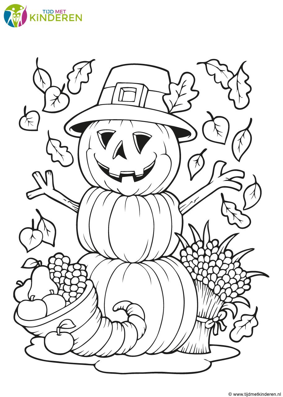 Jack O Lantern Pumpkins Coloring Pages Smiling Pumpkin With Halloween Friends Halloween Ausmalbilder Ausmalen Ausmalbilder