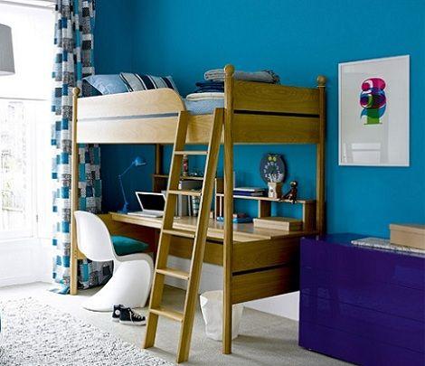 Literas con escritorio debajo buscar con google dormitorios infantiles pinterest - Literas con escritorio debajo ...