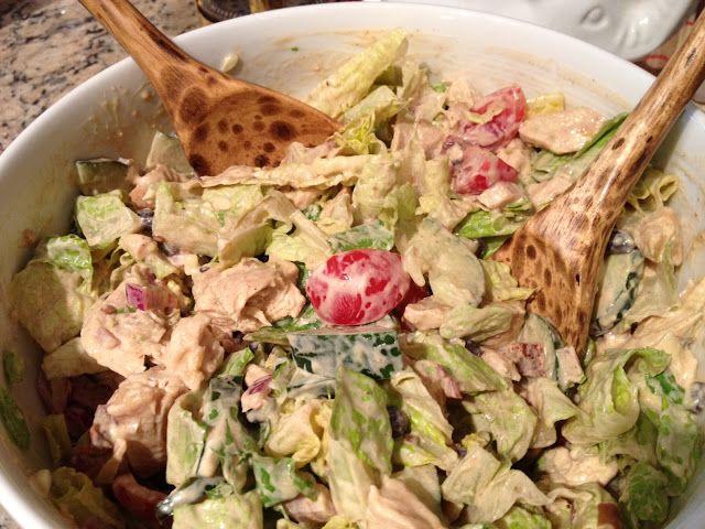 sadie + stella: Chipotle Chopped Chicken Salad