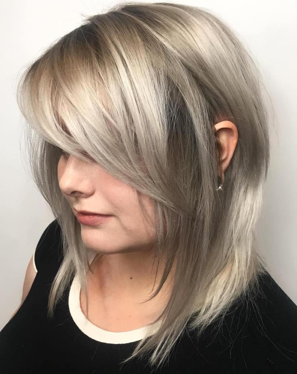 40 Side Swept Bangs To Sweep You Off Your Feet Layered