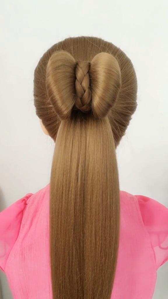 Hairstyle Tutorial 790 In 2020 Hair Tutorial Hair Style Vedio Long Hair Styles