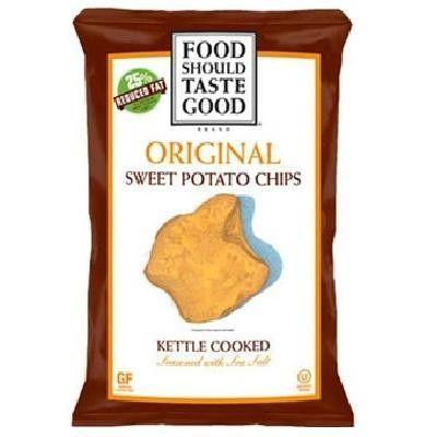 Food Should Taste Good Sweetpotato Kettle Chip Original (12x4.5oz )