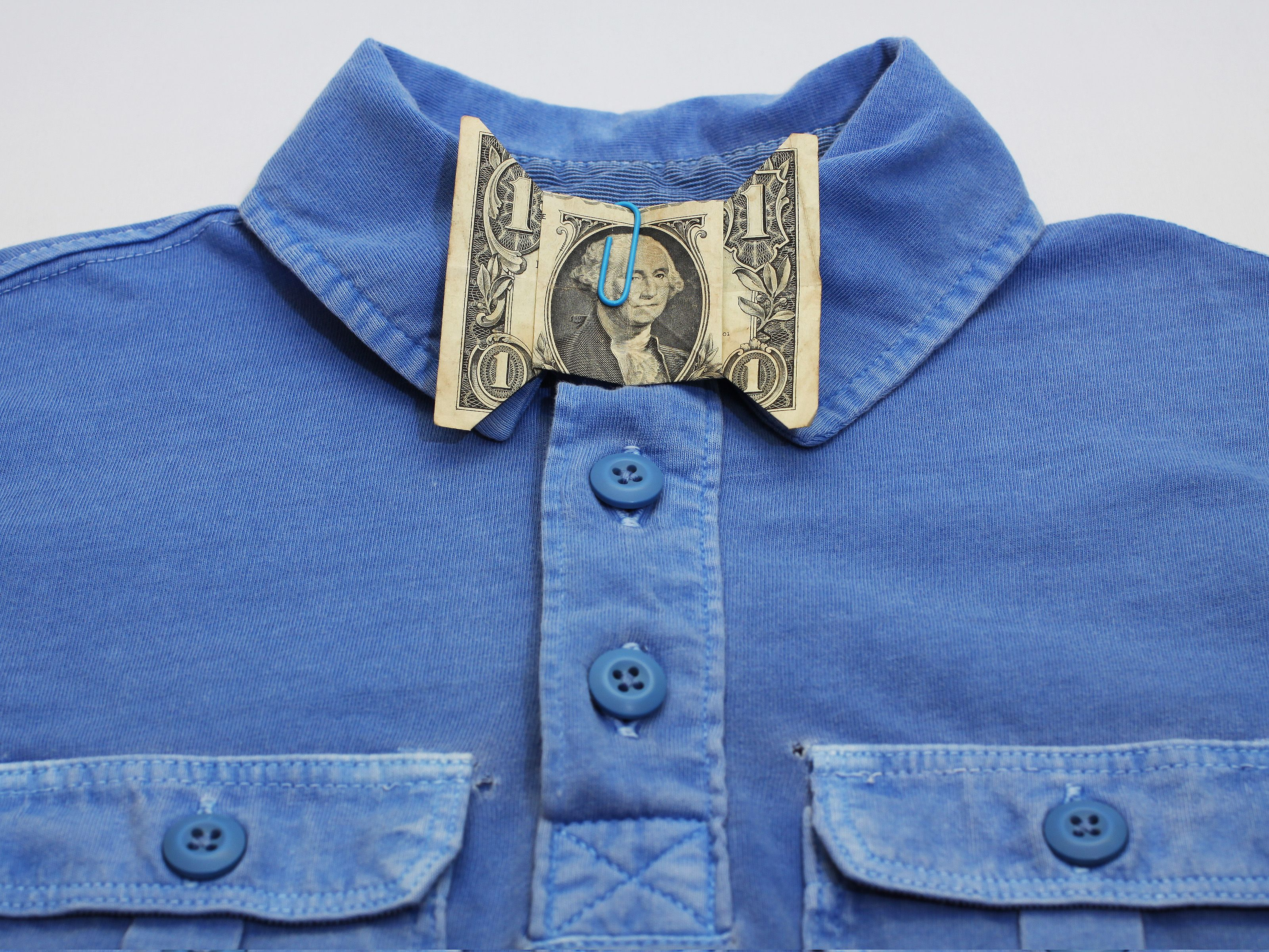 Make a Dollar Bill Bow Tie | Origami and Craft - photo#12
