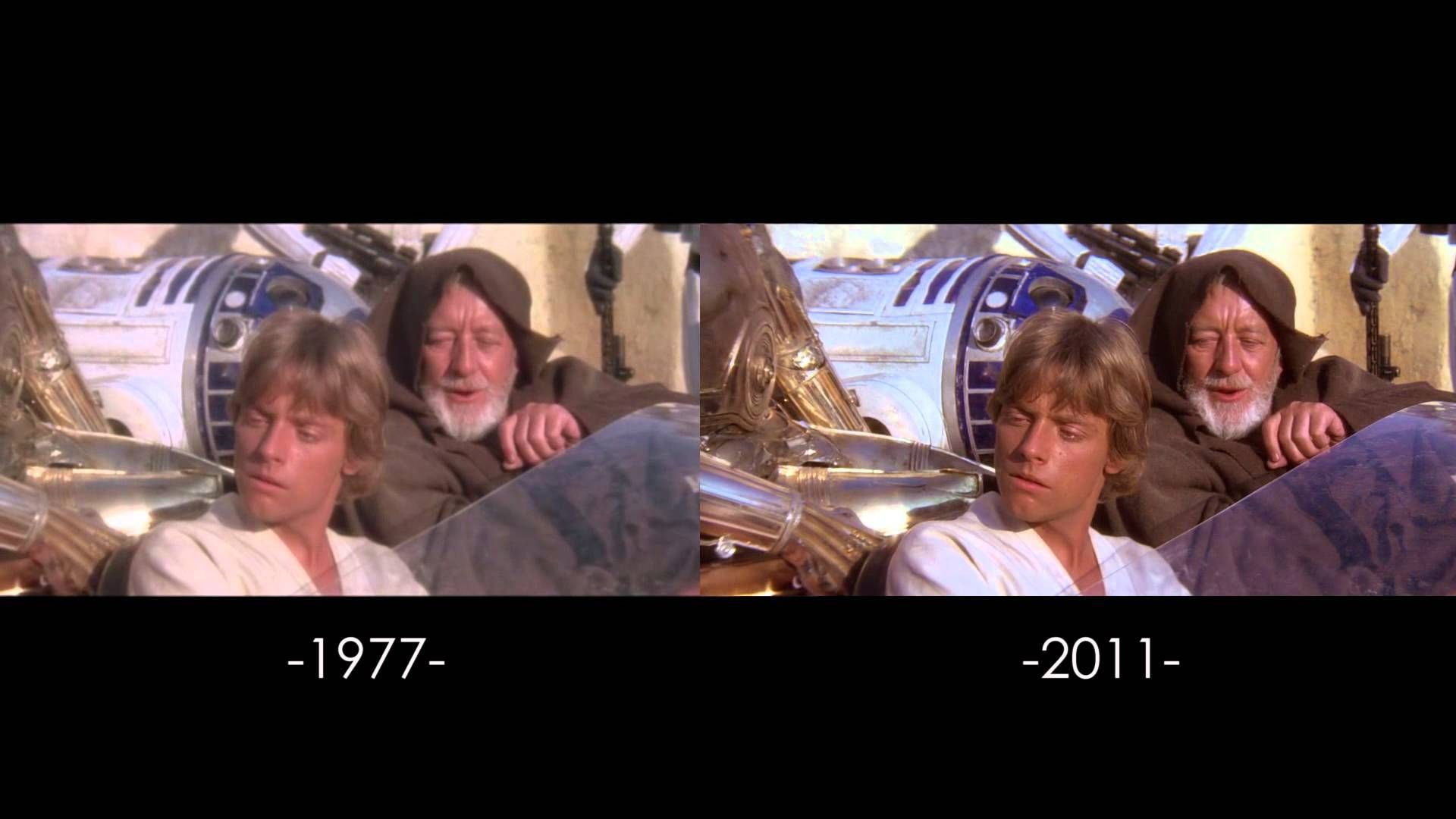 A Video Series Comparing All Of The Changes Ever Made To The Original Star Wars Trilogy Films Star Wars Trilogy Star Wars Artwork Star Wars Episode Iv