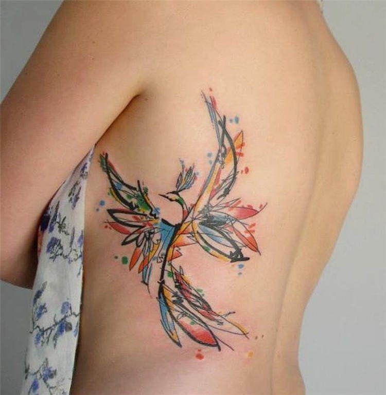 Tatouage phoenix femme signification emplacements et id es en images tatouage phoenix - Tatouage femme signification ...