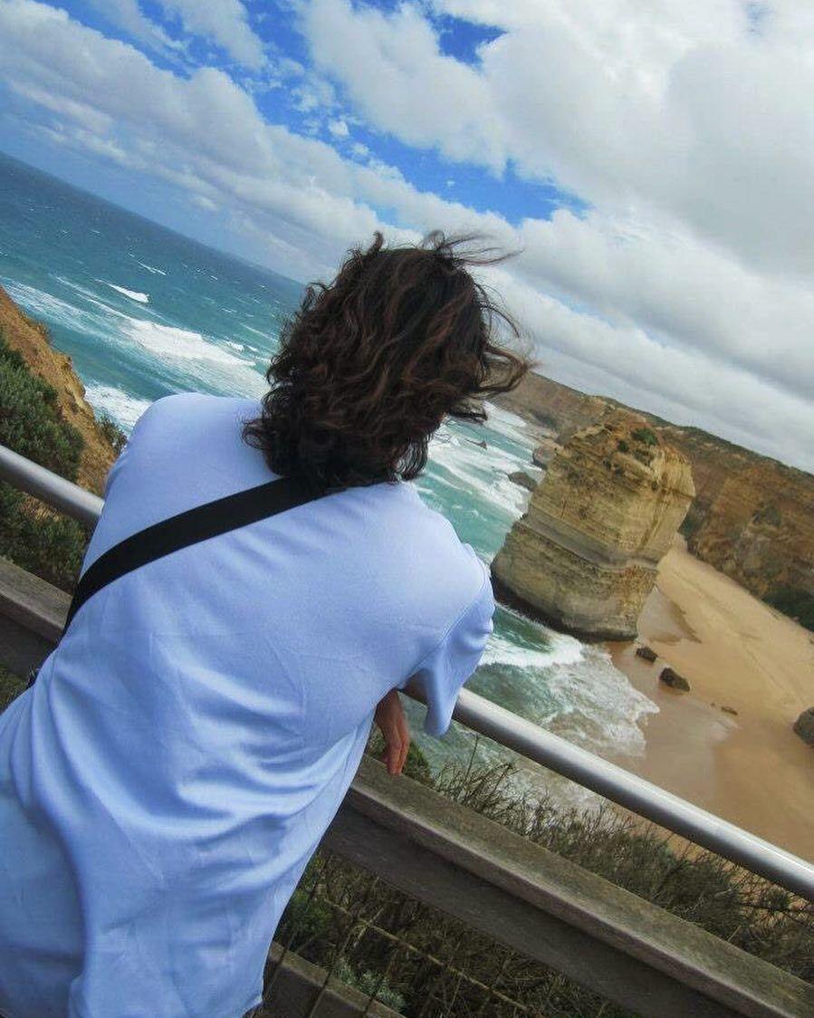 그냥 전부 다 놔두고 나가고 싶은 이놈의 역마살.. 2012 Great Ocean Road in AU.  #australia #melbourne #warrnambool #greatoceanroad #12apostles #memory #sea #sky #trip #iphone6splus #snapseed by kylebaek