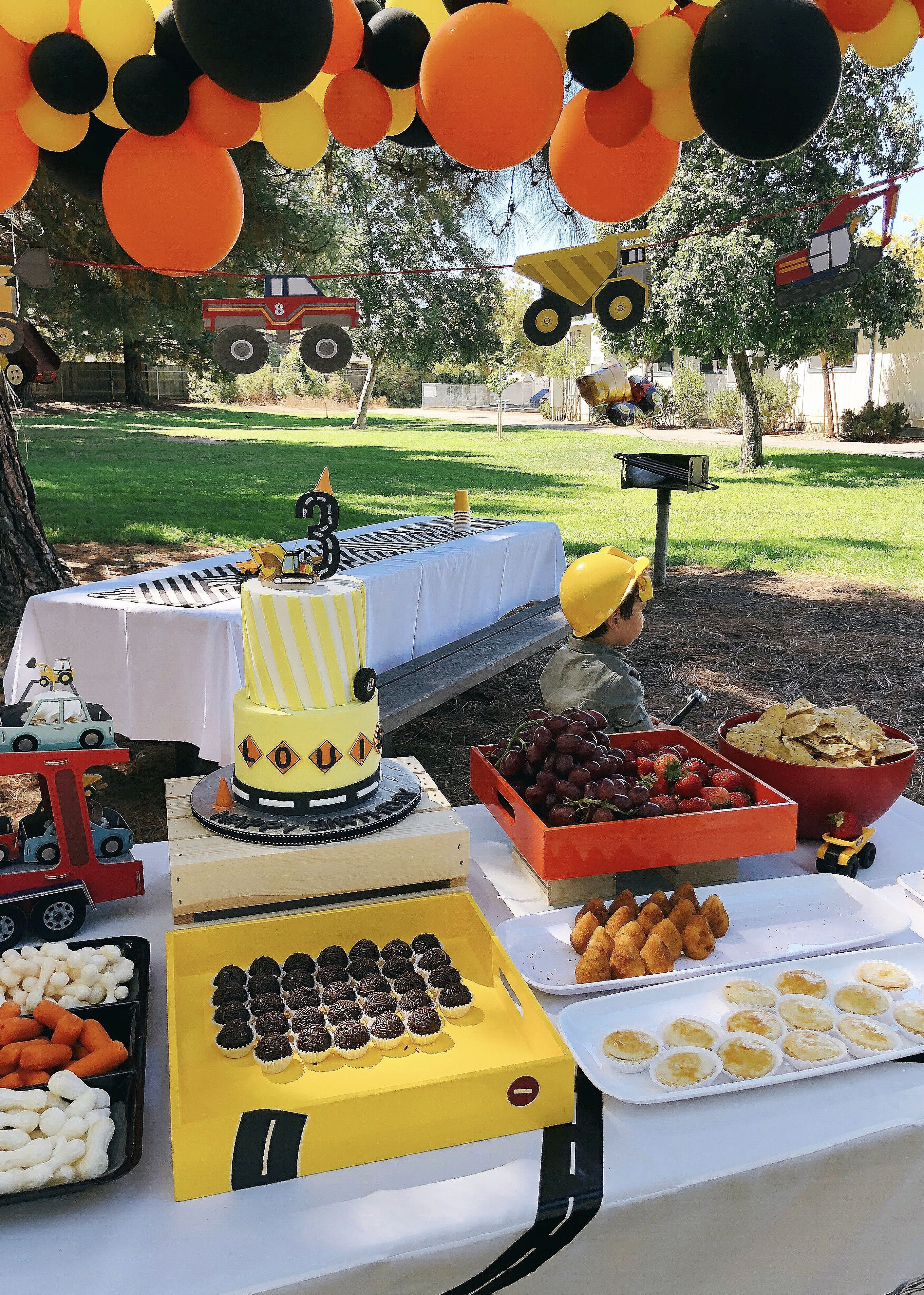 Construction Birthday Party Ideas In 2021 Construction Birthday Construction Theme Birthday Party Construction Birthday Parties