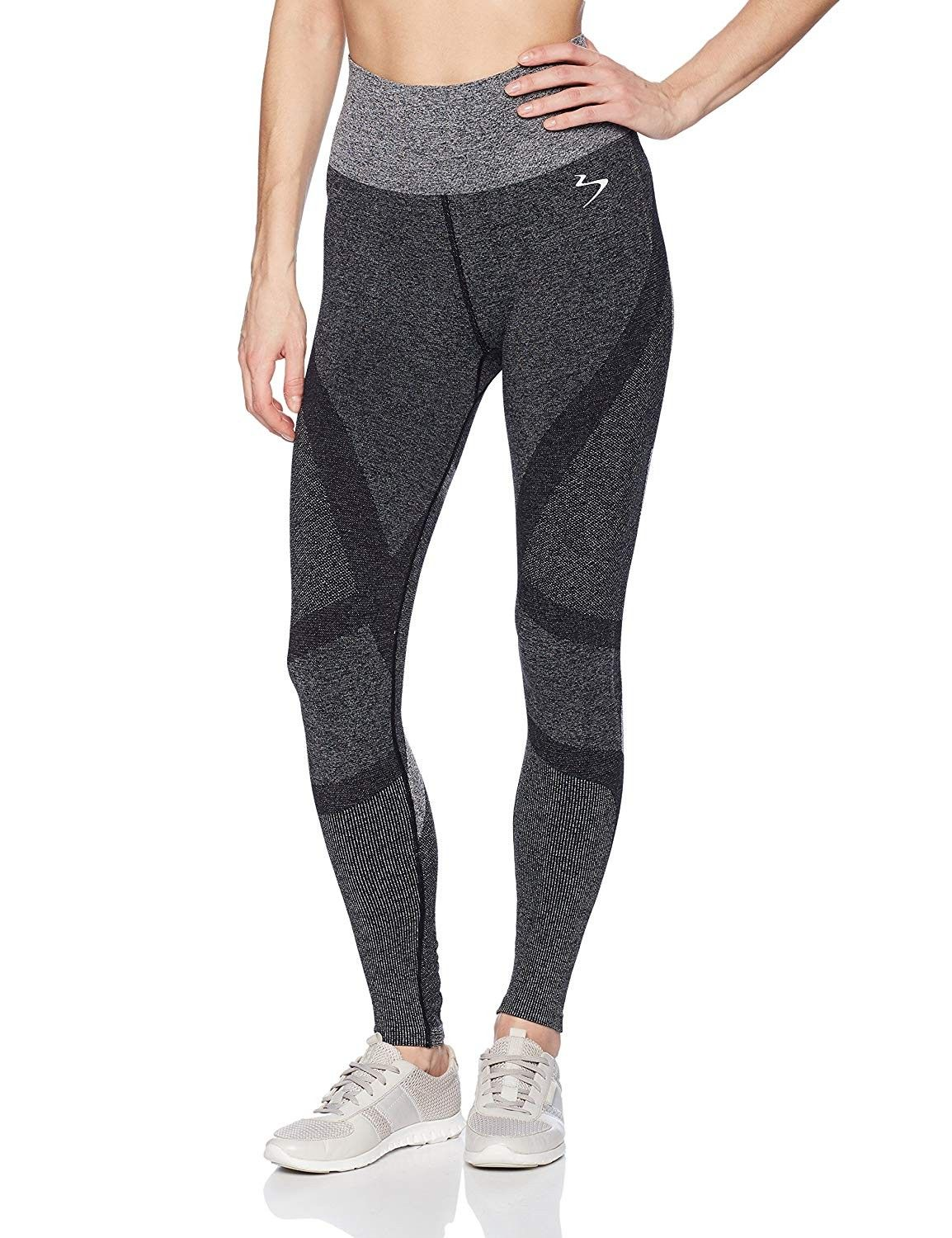 Women's Intent Compression Long Tights - Black - X-Small - C7186AUI35K - Sports & Fitness Clothing,...
