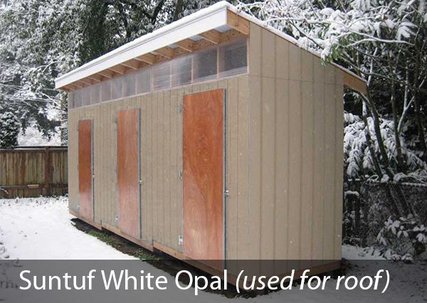 Suntuf Application Image 2 1 Corrugated Roofing Backyard Shed Shed