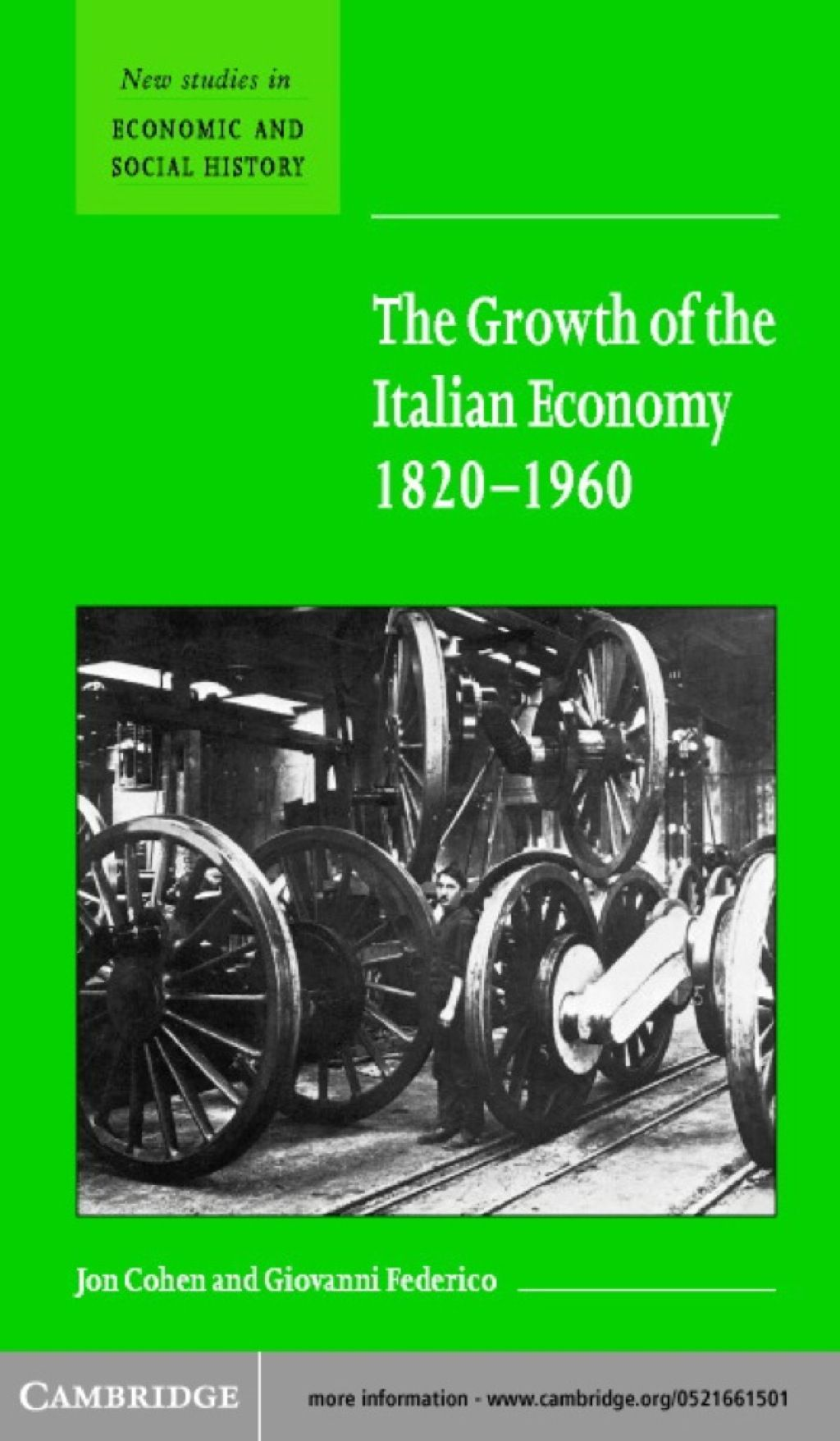 The Growth of the Italian Economy 18201960 (eBook