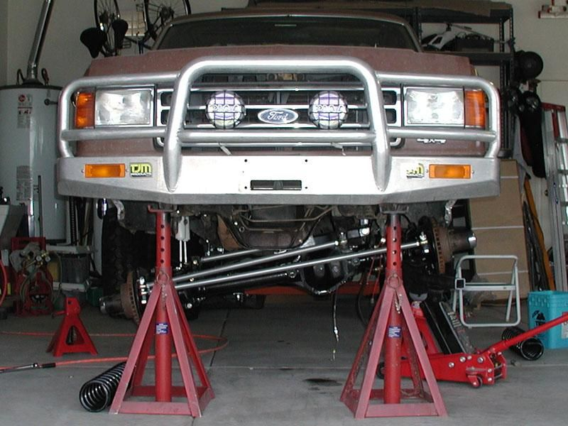 1989 Ford Bronco Front Axle Dana 44 From An 1979 Ford Bronco