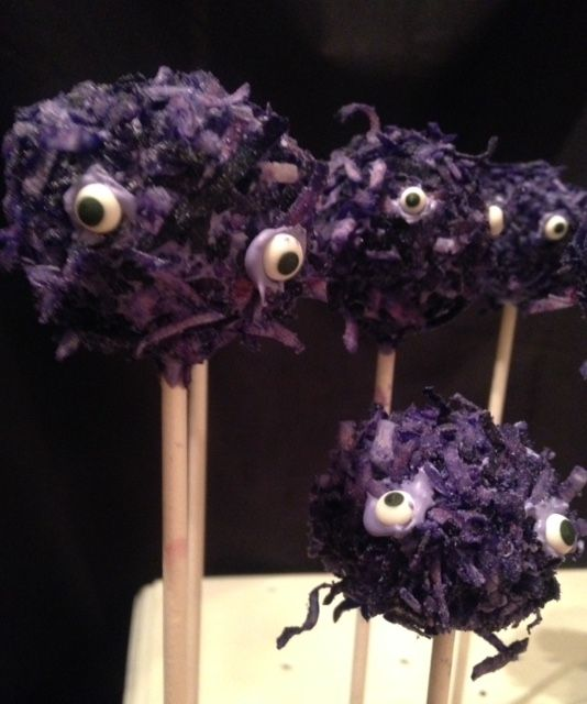 Halloween Purple People Eater Monster