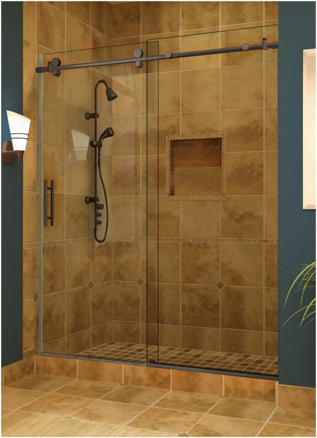 Sliding Shower Door Bottom Sill Guide | http://sourceabl.com ...