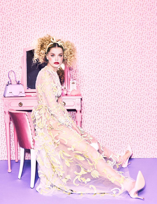 Frida Aasen by Ellen von Unwerth for Numéro Tokyo March 2017 | ellen ...