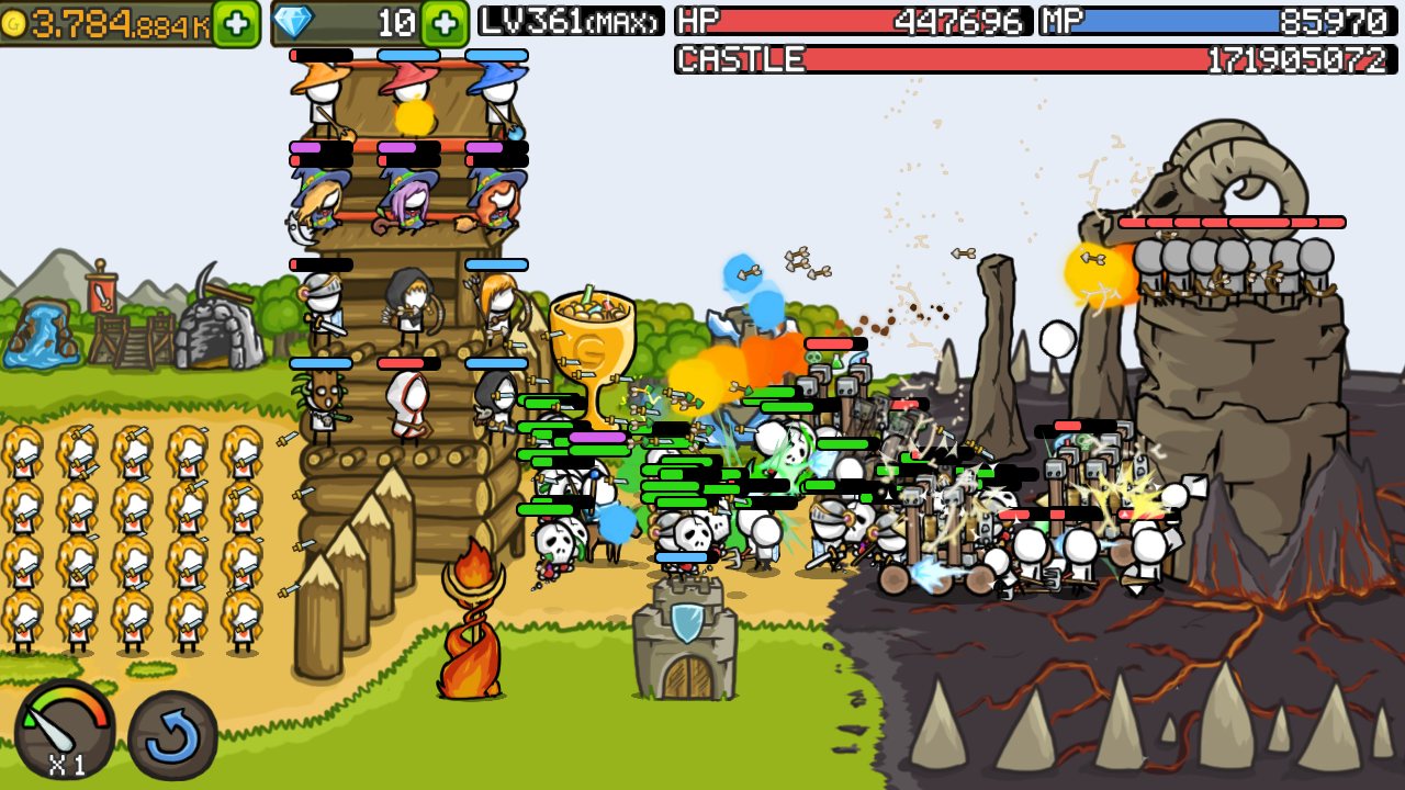 Grow Castle v1.16.1 Mod Apk Hack Descargar Juegos Para