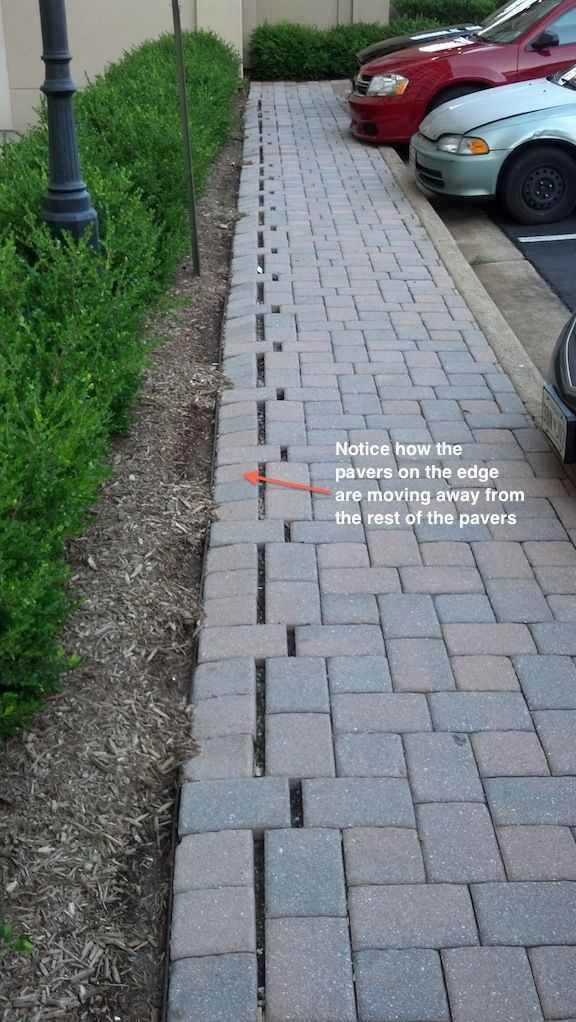 Choosing And Installing The Right Paver Edging Paver Restraint Two Brothers Brick Paving Paver Edging Patio Edging Paver Patio