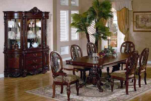 Traditional Dining Room Sets, Dining Room Table Cabinet