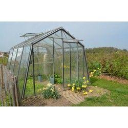 Serre S104h B Acd 9 12 M Verre Trempe Securit Parois Obliques Maison Verte Serre Jardin Jardins