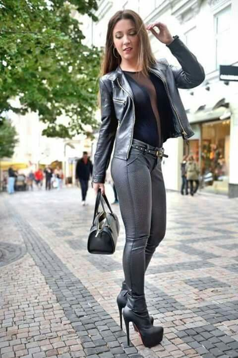 Naughty In Boots — Julie Skyhigh in ankle boots (x-post. Find this Pin and  more on Women's fashion ...