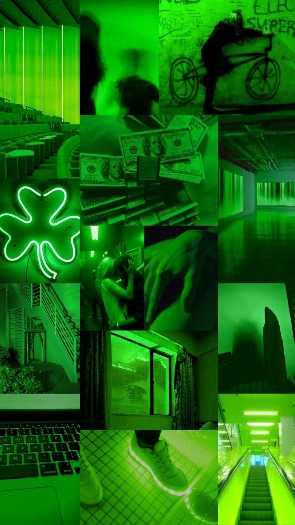 Green aesthetic wallpaper / lockscreen | Lock screen ...