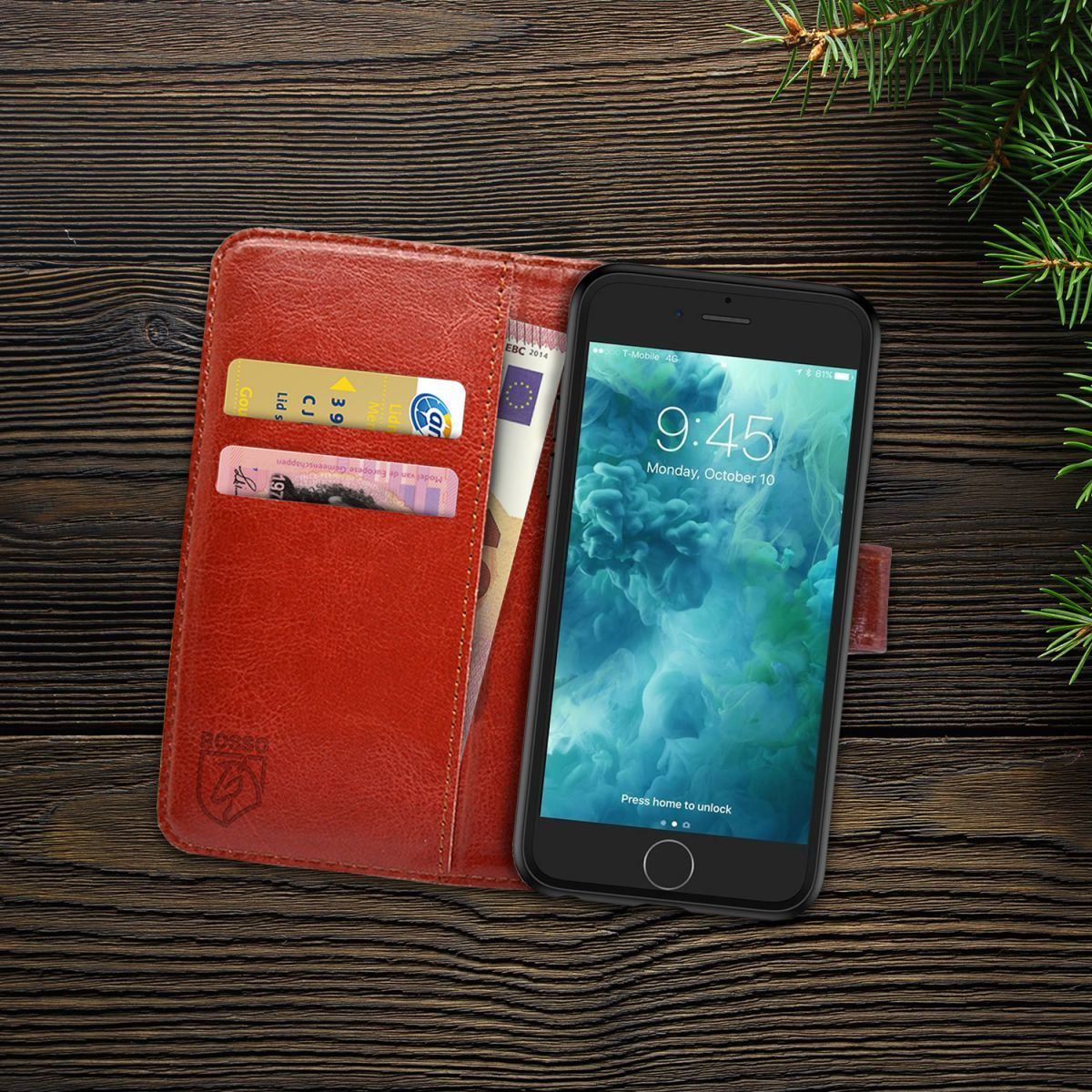 APPLE-Cover iPhone 7 Rosso