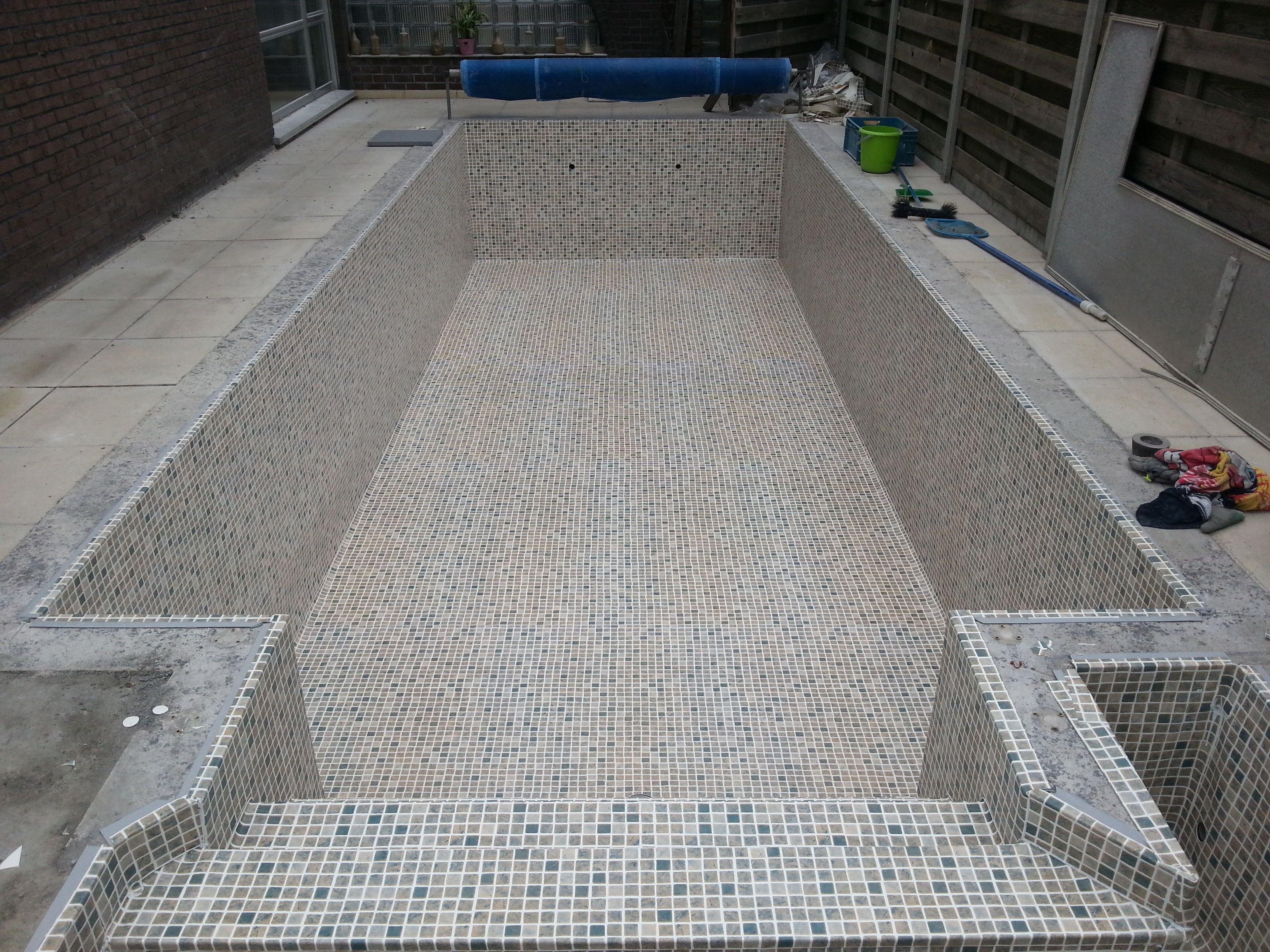 Renovatie met alkor persia sand pool water pool water indoor