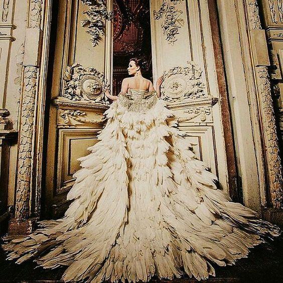 Olga Malyarova Gown