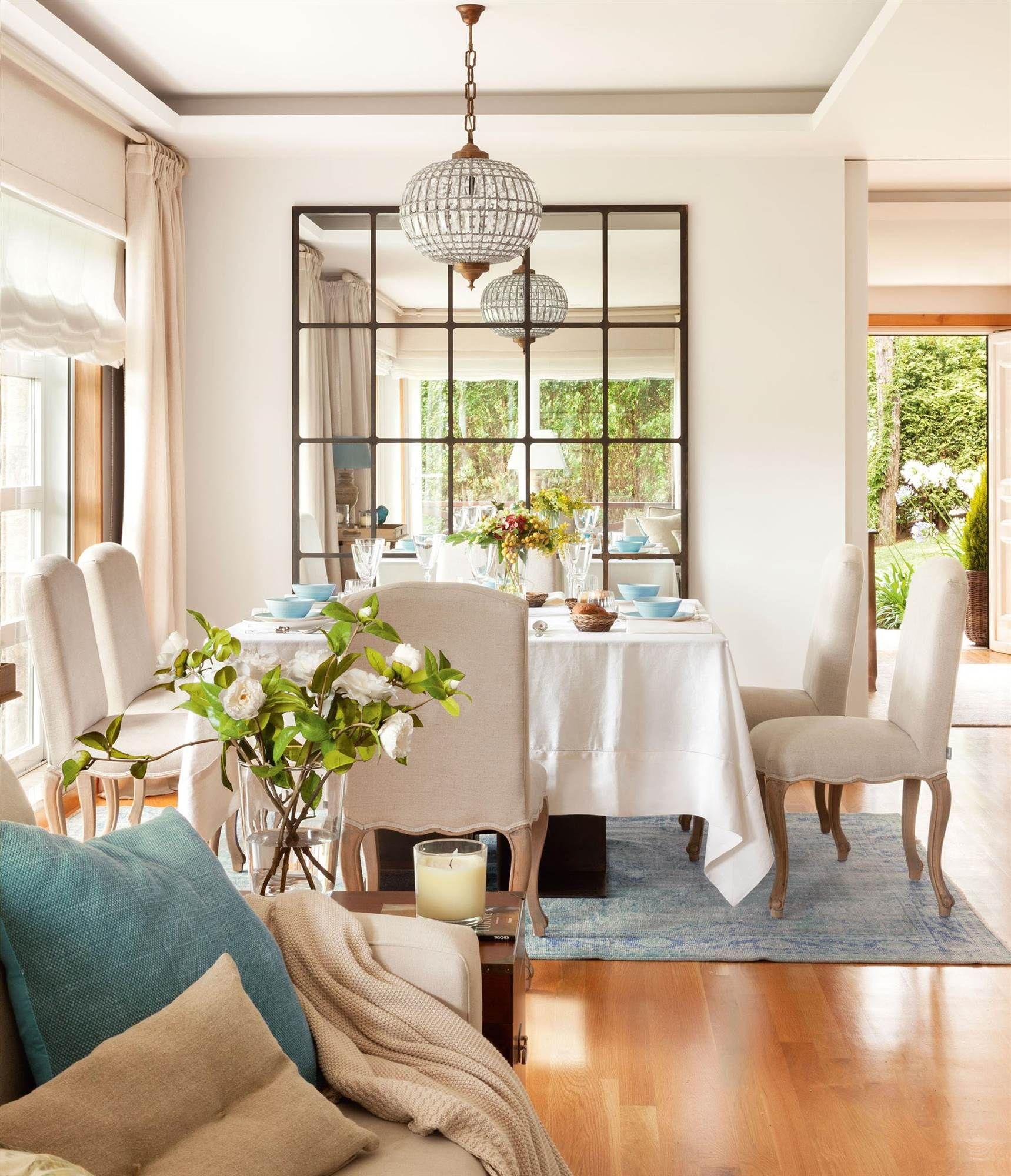 Espejos 10 razones para amarlos espejo comedores y ventana - Colores y ambientes ...