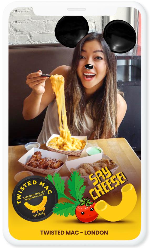 Geofilter Voor Mac And Cheese Restaurant Een Quote Als Say Cheese Nodigt Mensen Uit Een Filter Te Gebruiken Mac Restaurant