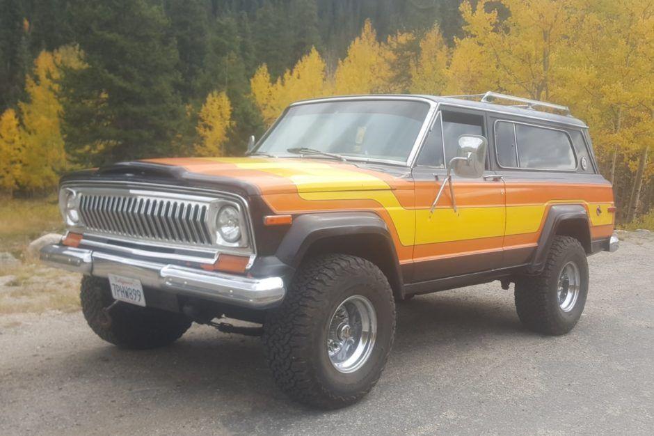 Custom 1978 Jeep Cherokee S Wide Track 4x4 Jeep Cherokee Jeep