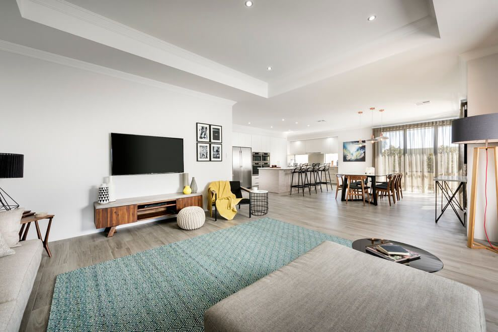 The Illoura by Highbury Homes | Interiors, Living rooms and Open plan