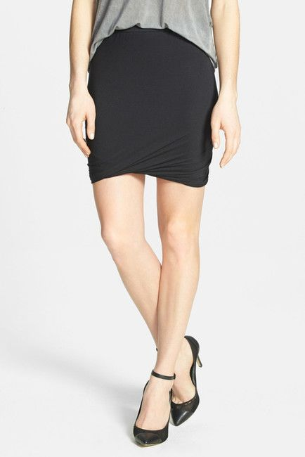 Twist Body-Con Miniskirt