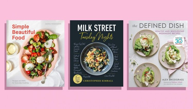 Tired Of Eating The Same Weeknight Meals These 4 Cookbooks Will Enhance Your Recipe Rolodex Real Simple Weeknight Meals Wholesome Food Recipes