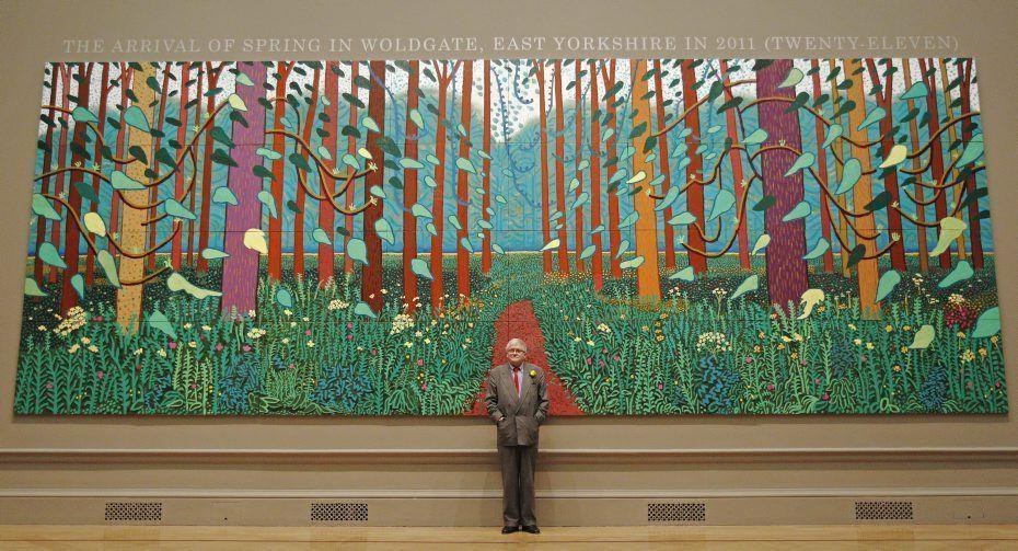 David Hockney La Mostra Evento Londinese Painters Pinterest