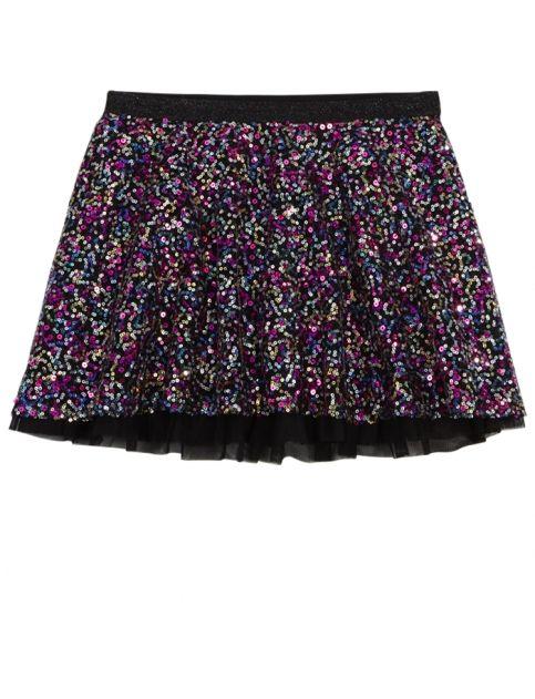 Allover Sequined Skirt | Girls Skirts u0026 Skorts Clothes | Shop Justice | Modern Day Snow ...