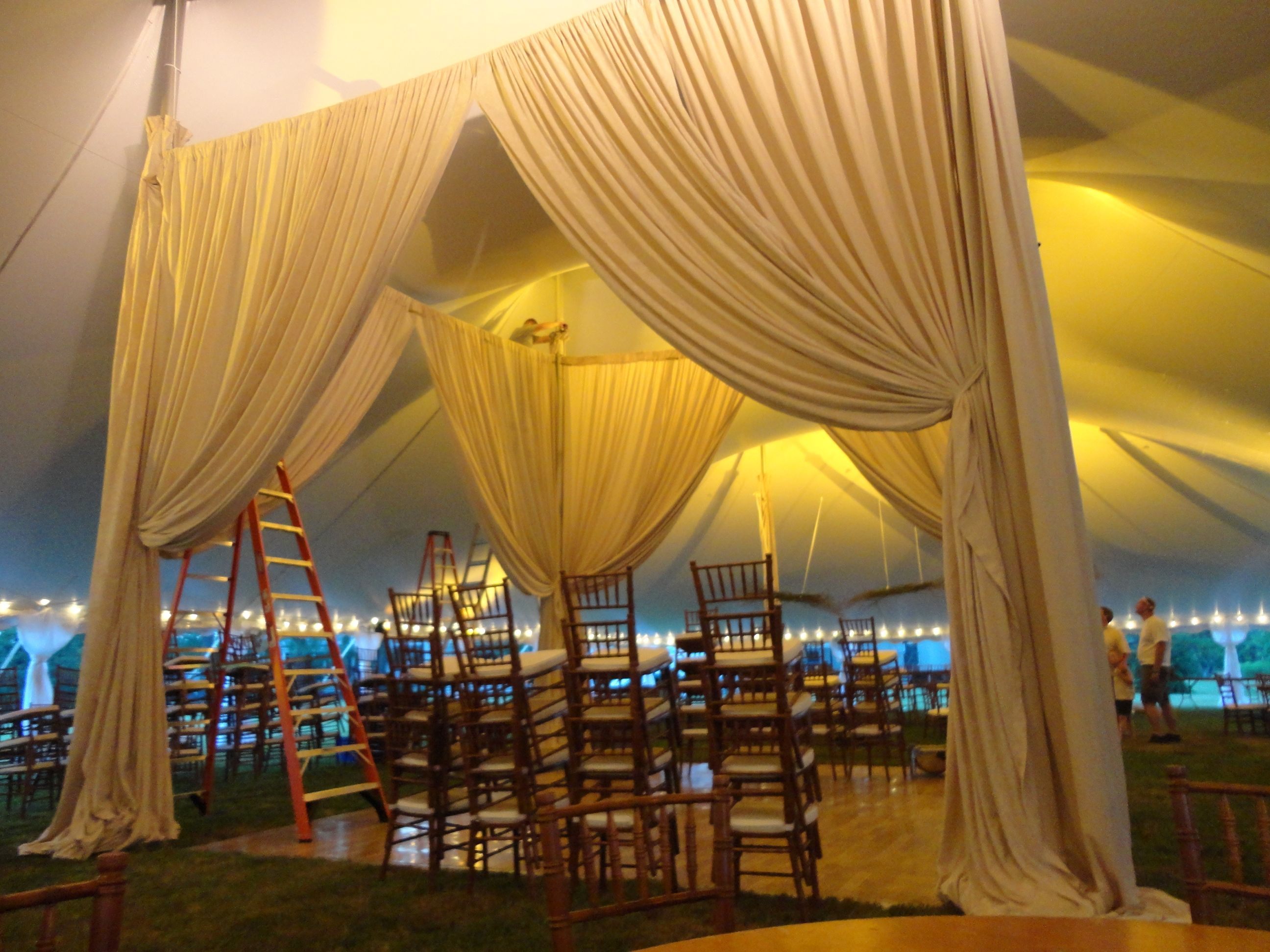 Oym Worked With Gourmet By The Bay To Create A Drapery