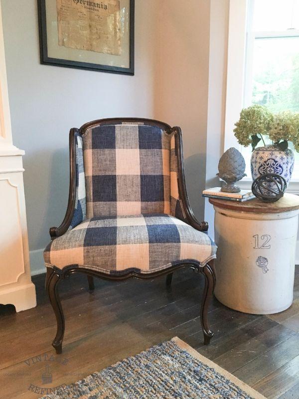 My $10 Craigslist Chair  Buffalo Check And Upholstery Entrancing Craigslist Living Room Set Design Inspiration
